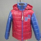 Демисезонная куртка для мальчиков Спорт , 128-152 см.
