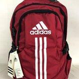 Прочный, качественный мужской рюкзак- портфель Adidas. Спортивный рюкзак Адидас. Рк10-2