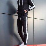 Штаны спортивные мужские Lampas Black-beige
