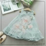 Красивое нарядное шифоновое платье