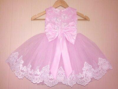 Детское нарядное пышное платье в наличии 26 р