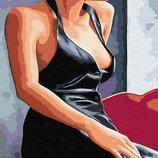 Картина по номерам. Brushme Девушка у окна GX30473