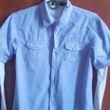Продам фирменную рубашку-обманку , на рост 164-170см,14 лет