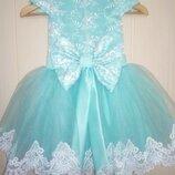Пышное детское нарядное платье в наличии