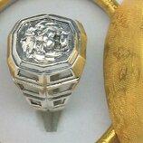 Кольцо перстень серебро 925 проба 8,36 гр. 20 размер