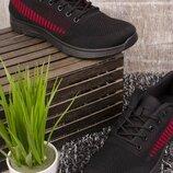 Кроссовки с верхом из текстиля