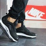 Кроссовки мужские Nike Air Max 720 черные с белым