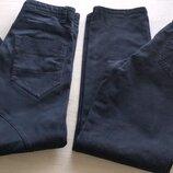 Котоновые брюки в школу на 12 лет рост 152-158см.