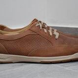 Туфли кроссовки Clarks мужские кожаные. Оригинал. 44 р./29 см.