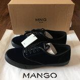Новые бархатные кеды Mango Man