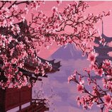 Картина по номерам Брашми. Brushme Сакура в Японии GX4748