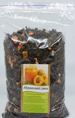 Чай зеленый абрикосовый джем , 100г.