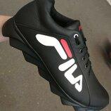Мужские спортивные кроссовки Fila E Супер 110% Кожаные Городской стиль Фила