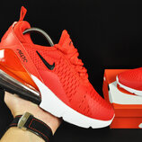 кроссовки Nike Air Max 270 арт 20634 женские, красные, найк