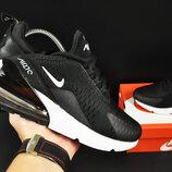 кроссовки Nike Air Max 270 арт 20633 женские, черные, найк