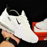 кроссовки Nike Air Max 270 арт 20631 женские, белые, найк