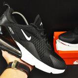кроссовки Nike Air Max 270 арт.20626 мужские, черные, найк