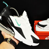 кроссовки Nike Air Max 270 арт.20623 мужские, белые, найк