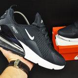кроссовки Nike Air Max 270 арт.20622 мужские, синие, найк