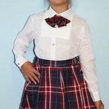 Юбка шотландка для школы на девочку