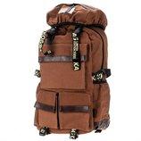 Небольшой туристический рюкзак, брезентовый рюкзак