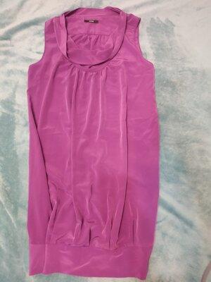 Платье фуксия--модный фасон