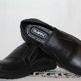 Туфли мужские из натуральной кожи , черные 39-48 р арт 304 Traffic.