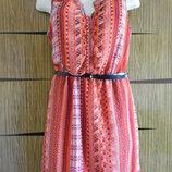 Платье лето новое размер 12 40 идет на 46-48 .