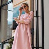 Платье креп костюмка
