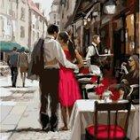 Картина по номерам Брашми. Brushme Пара в Париже GX3562