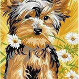 Картина по номерам Брашми. Brushme Милая собачка GX30040