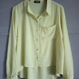 Лёгкая рубашка. яркая блуза . женская рубашка. асимметрия. оверсайз