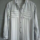 Актуальная рубашка в полоску. полоска . женская рубашка. блуза