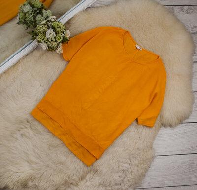 Очень стильный яркий топ блуза свободного кроя от RIVER ISLAND рр 8 наш 42