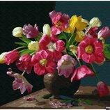 Картина по номерам Брашми. Brushme Красочные цветы GX25929