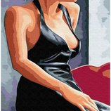 Картина по номерам Брашми. Brushme Девушка у окна GX30473