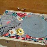 Комплект чешский фетровый берет tonak fezko и палантин с перчатками в тон серый