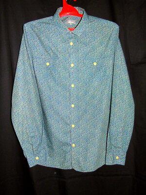 LINEA Шикарная рубашка в принт - S - M