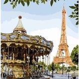 Картина по номерам Брашми. Brushme Веселый Париж GX26731