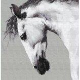Картина по номерам Брашми. Brushme Белая лошадь GX25707