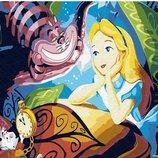 Картина по номерам Брашми. Brushme Алиса и Чеширский Кот GX30456