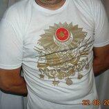 Стильная катоновая фирменная футболка .Tutek .м-л