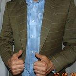 Стильний деловой нарядний фирменний пиджак бренд Den haag. германия .м-л .