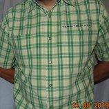 Брендовая стильная нарядная рубашка сорочка Tommy Hilfiger Томми Хилфигер .л-Хл .