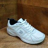 Подростковые кожаные кроссовки на платформе restime Р. 36-41