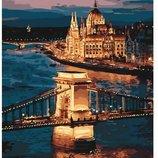 Картина по номерам идейка. Волшебный Будапешт 40 50см KHO3557