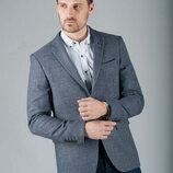 Брендовый мужской серый пиджак блейзер dimensions шерсть этикетка