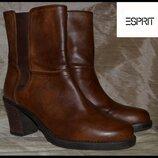 Брендові черевики жіночі Esprit 38 Німеччина 25 см ботинки женские кожаные