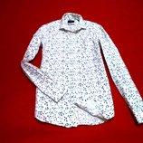 Moss london мужская рубашка в кляксы.акция до конца недели всего 235 грн