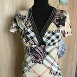 Брендова блуза-футболка жіноча Treysi Burberry S-M Туреччина женская